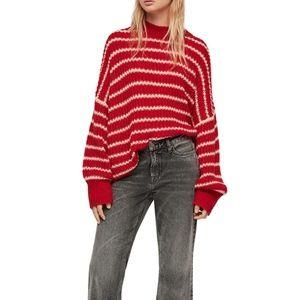 All Saints Renne Stripe Sweater